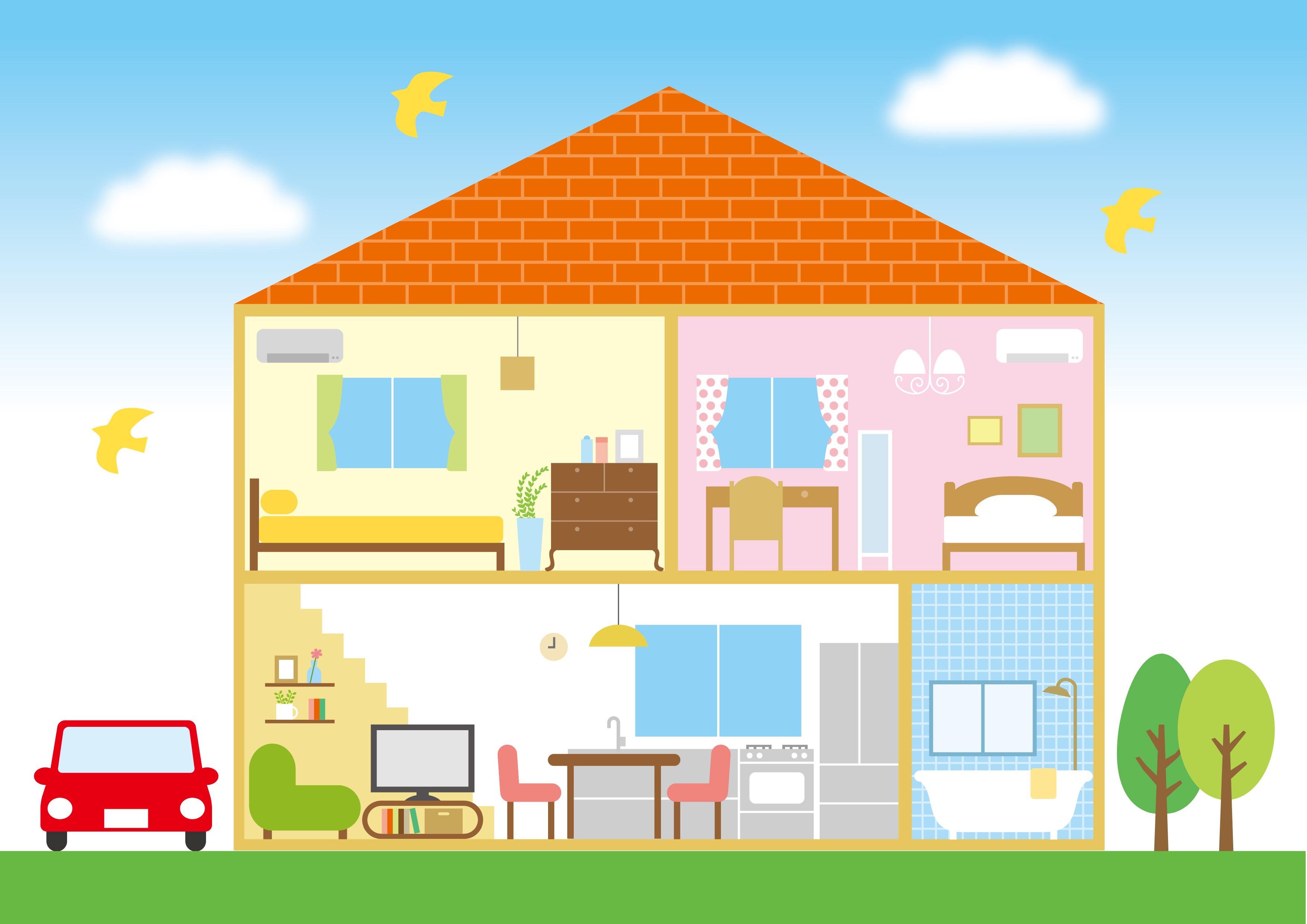 イギリスの住宅はどんな種類があるのか解説。ロンドンの一戸建て9000万