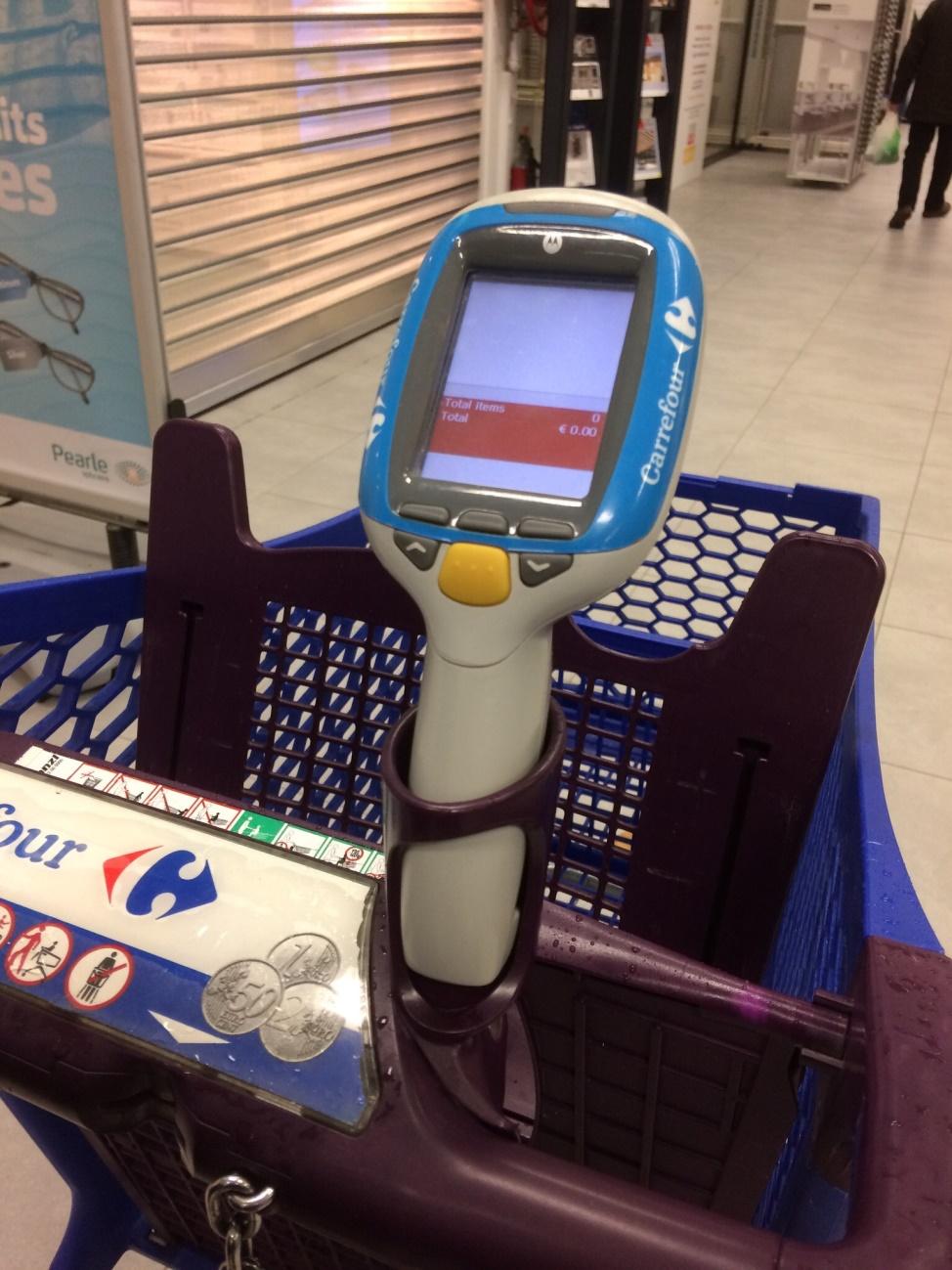 ベルギーのハイパーマーケットでの買い物の仕方を紹介