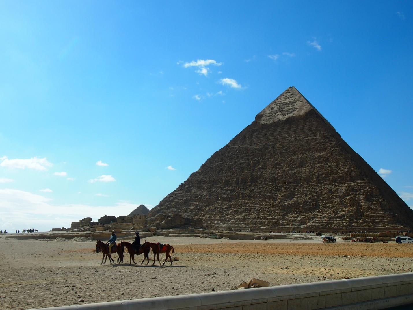 エジプトのピラミッドエリアのお勧め撮影ポイント3選