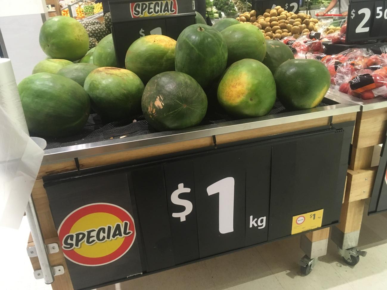 オーストラリアのスーパーマーケット事情。カンガルー肉も買える